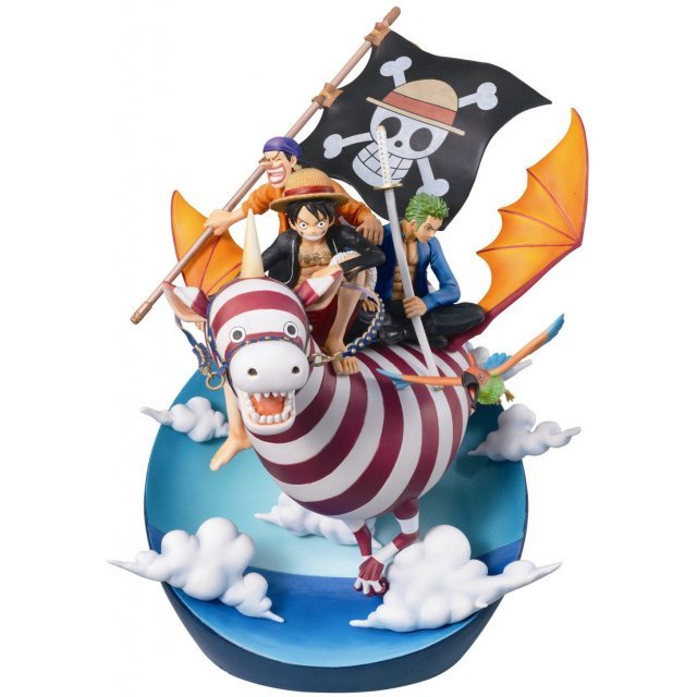 One Piece Desktop Real McCoy Pre-Painted Statue 03