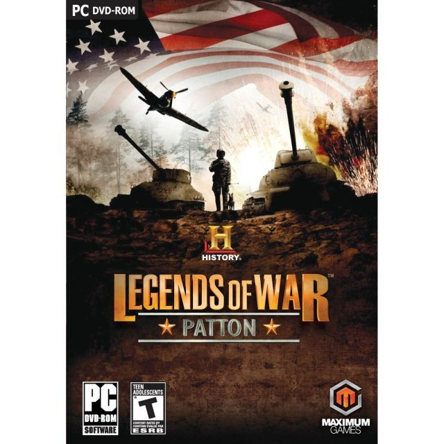 History Legends of War: Patton (DVD-ROM)