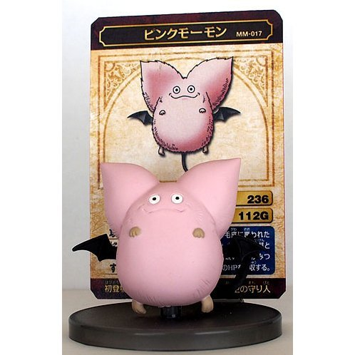 Dragon Quest Monster Museum 017 Pink Momon
