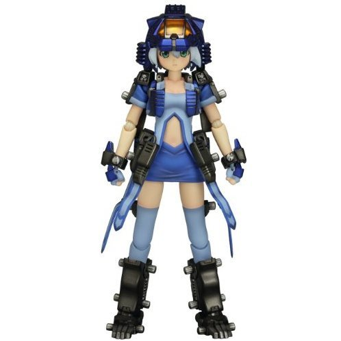 Figutto! Zoids Non Scale Pre-Painted PVC Figure: Girl Shieldliger