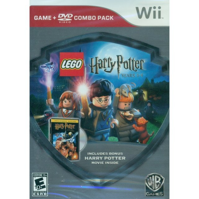 LEGO Harry Potter: Years 1-4 + Movie (Combo Pack)