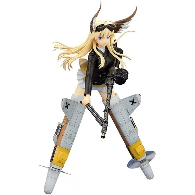 Strike Witches 2 1/8 Pre-Painted PVC Figure: Hanna Justina Marseille  Alter Ver.