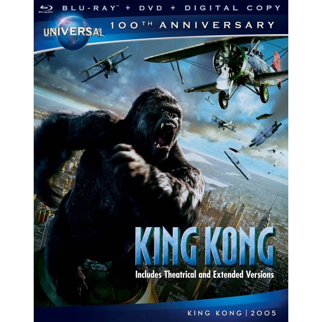 King Kong [Blu-ray DVD+Digital Copy]