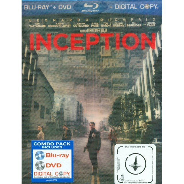 Inception [Blu-ray+DVD+Digital Copy]