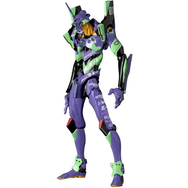Revoltech Yamaguchi Series Rebuild of Evangelion: EVA Unit 01 Evaracing 2012 / EVA RT Unit 01 Apple Shiden Series No.100EX