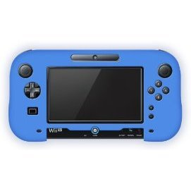 Silicon Cover for Wii U GamePad (Blue)