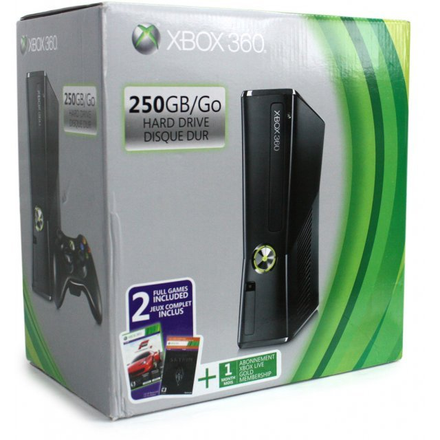Xbox 360 250GB Holiday Bundle (Forza Motorsport 4)