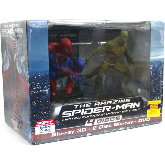 The Amazing Spider-Man Gift Set [Limited Edition: 4 Discs With Figurine]