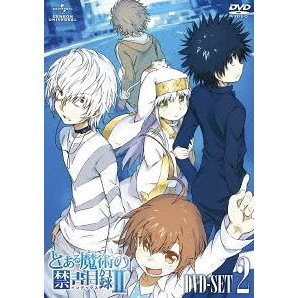 To Aru Majutsu No Index 2 Dvd Set 2