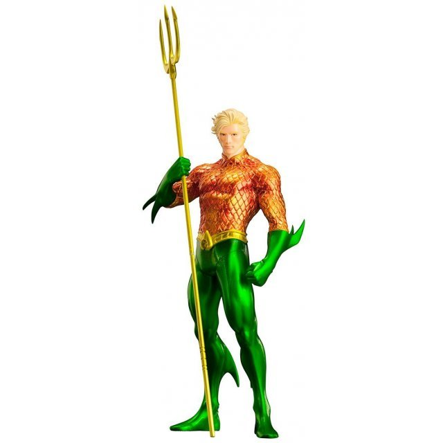 ARTFX+ DC Comics New 52 1/10 Scale Pre-Painted Figure: Aquaman (Re-run)