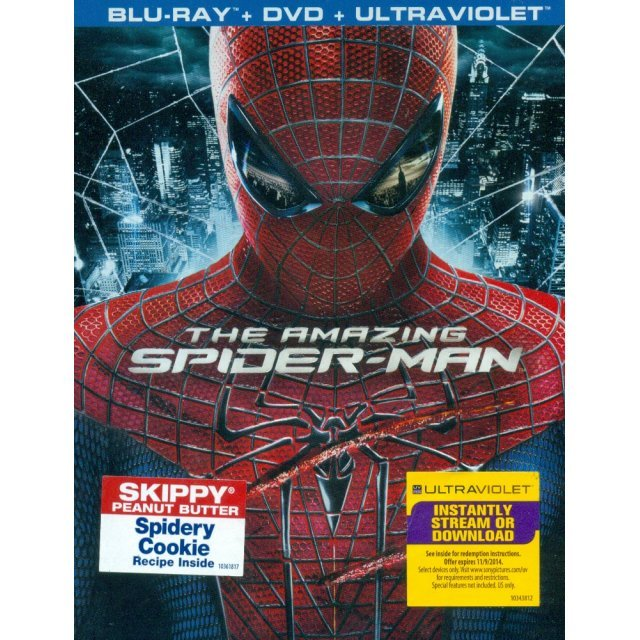 The Amazing Spider-Man [Blu-ray+DVD+Ultraviolet]