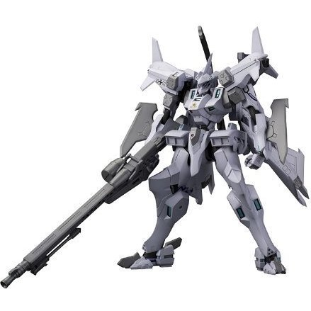 Muv-Luv Alternative The Euro Front Non Scale Pre-Painted Plastic Model Kit: EF-2000 Typhoon Cerberus Brigade Custom