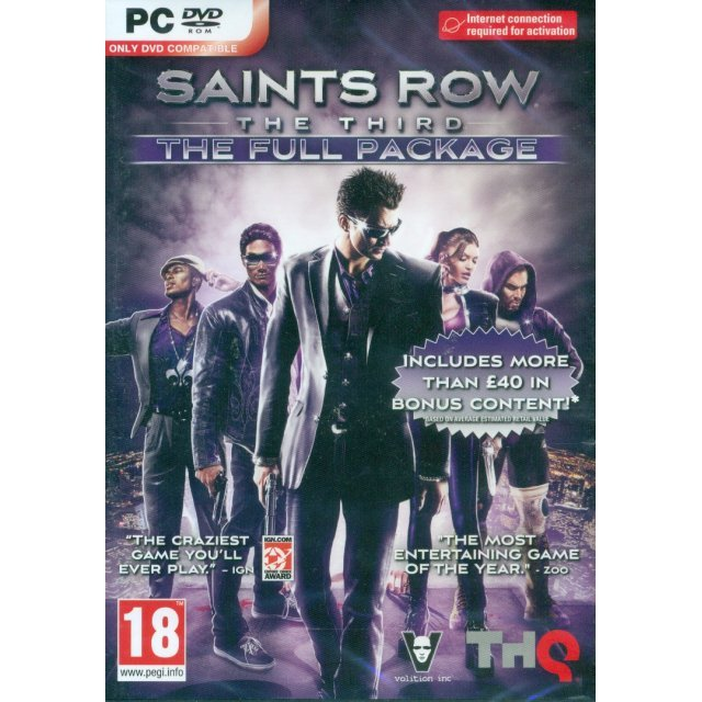 Saints Row: The Third (The Full Package) (DVD-ROM)