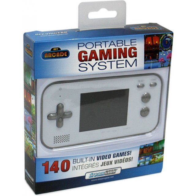 Handheld Portable Gaming System (White)