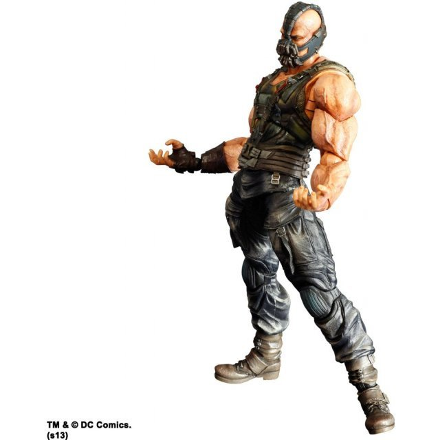 The Dark Knight Trilogy Play Arts Kai Non Scale Pre-Painted Figure: Bane