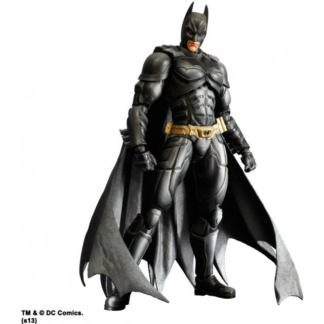 The Dark Knight Trilogy Play Arts Kai Non Scale Pre-Painted Figure: Batman