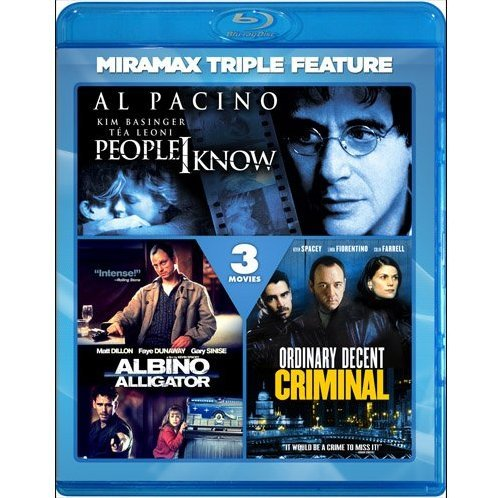People I Know / Albino Alligator / Ordinary Decent Criminal (Miramax Triple Feature)