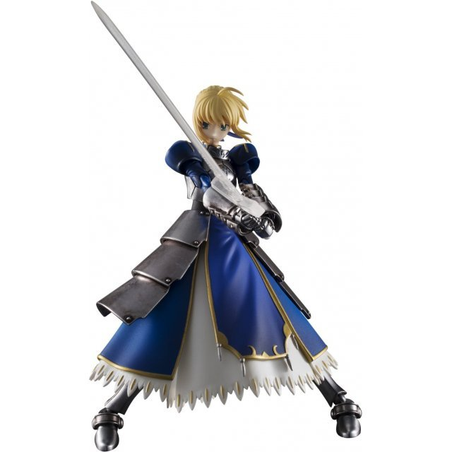 Chogokin Fate/stay night Non Scale Pre-Painted Figures: Saber