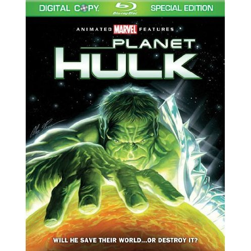 Planet Hulk [Blu-ray+Digital Copy]