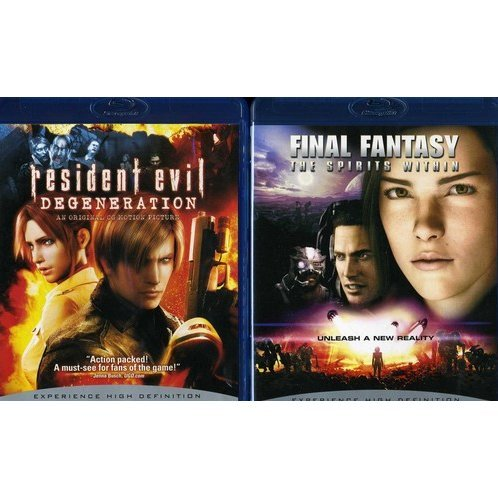 Resident Evil: Degeneration / Final Fantasy: Spirits