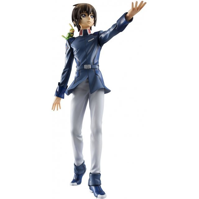 GEM Series Gundam Seed 1/8 Scale Pre-Painted PVC Figure: Kira Yamato