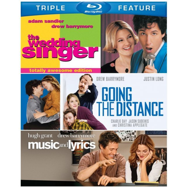 The Wedding Singer / Going the Distance / Music and Lyrics (Triple Feature)