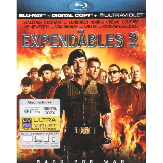 The Expendables 2 [Blu-ray+Digital Copy+UltraViolet]