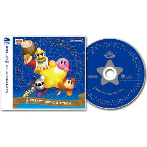 Hoshi no Kirby Wii Music Selection (Club Nintendo Limited Edition)