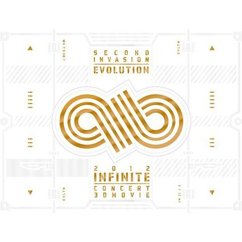 2012 Infinite Concert Second Invasion: Evolution [Blu-ray+2DVD Limited Edition]