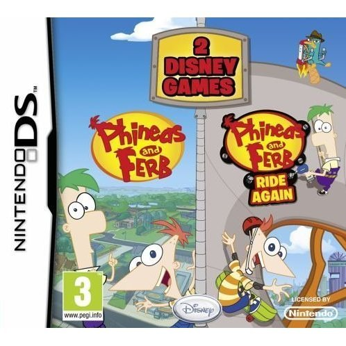 Phineas and Ferb (Twin Pack)
