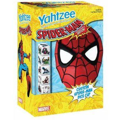 yahtzee spirder man collector s edition
