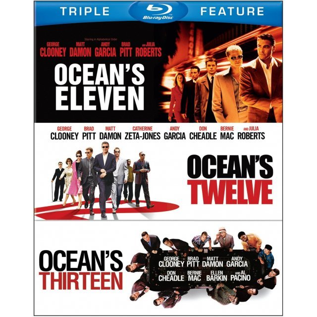 Ocean's Eleven / Ocean's Twelve / Ocean's Thirteen (Triple Feature)