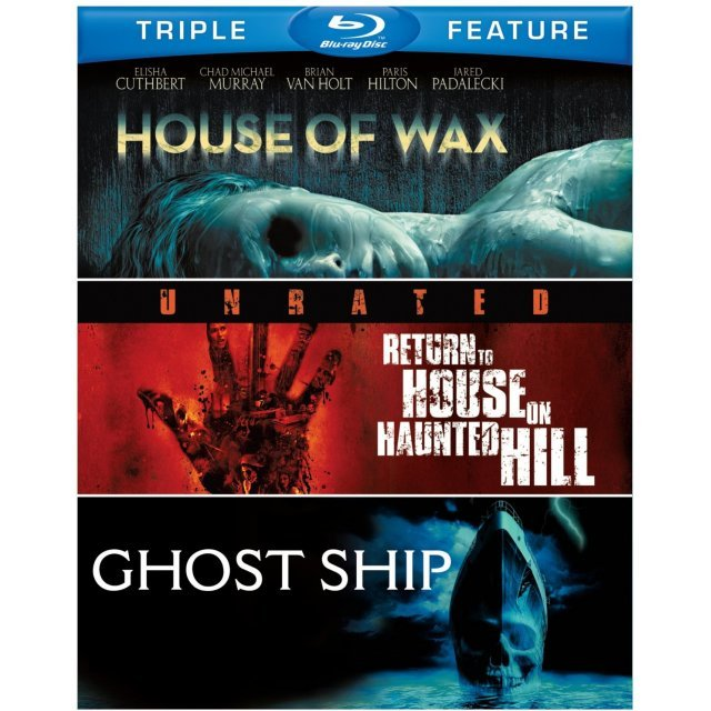House of Wax / Return to House on Haunted Hill / Ghost Ship (Triple Feature)