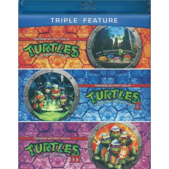 Teenage Mutant Ninja Turtles (Triple Feature)