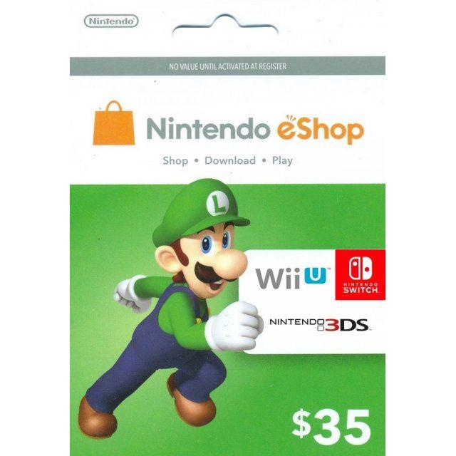 Nintendo eShop Card 35 USD | USA Account