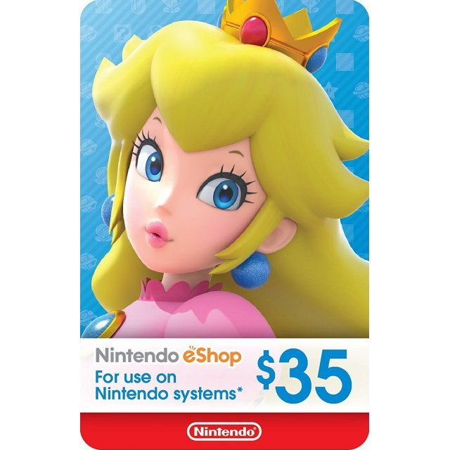 Nintendo eShop Card 35 USD | USA Account