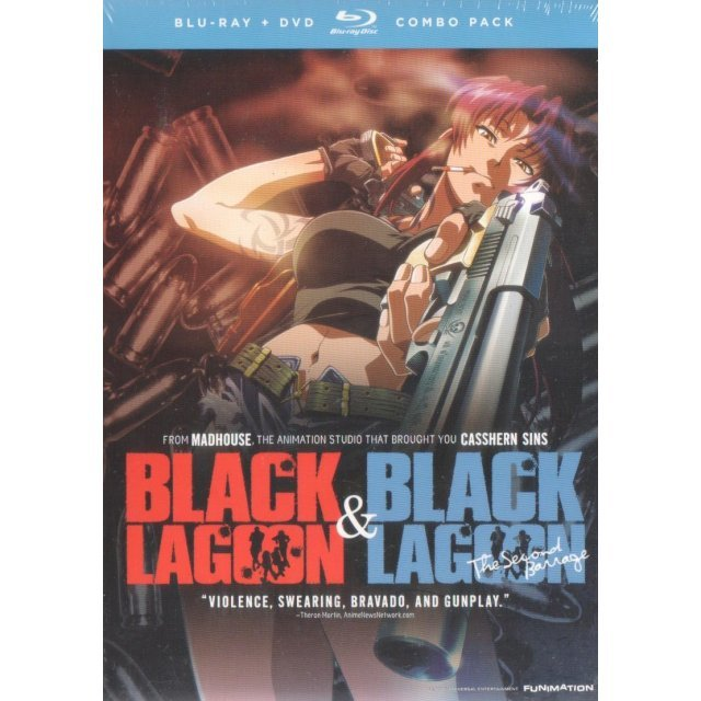 Black Lagoon: Complete Collection Season 1 and 2 [Blu-ray+DVD Combo Pack]
