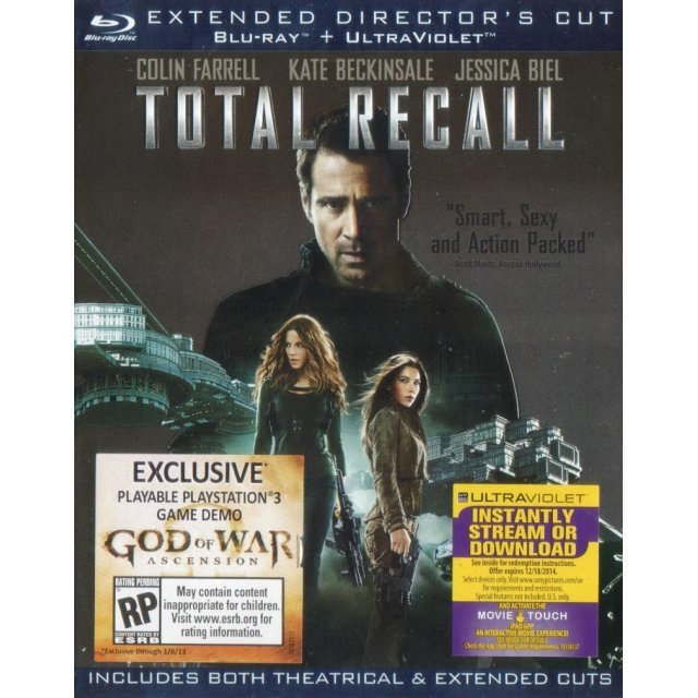 Total Recall [Blu-ray+UltraViolet]