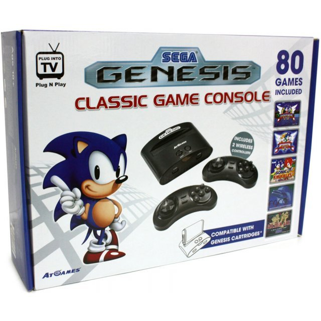 At Games Sega Genesis Classic Game Console