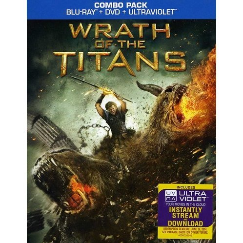 Wrath of the Titans [Blu-ray+DVD+UV Digital Copy]