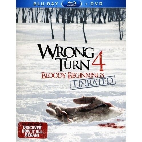 Wrong Turn 4 Bloody Beginnings [Blu-ray+DVD]