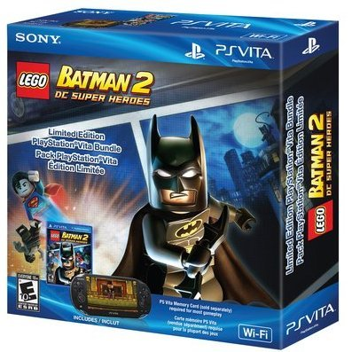 PS Vita PlayStation Vita - Wi-Fi Model (LEGO Batman 2: DC Super Heroes Bundle)
