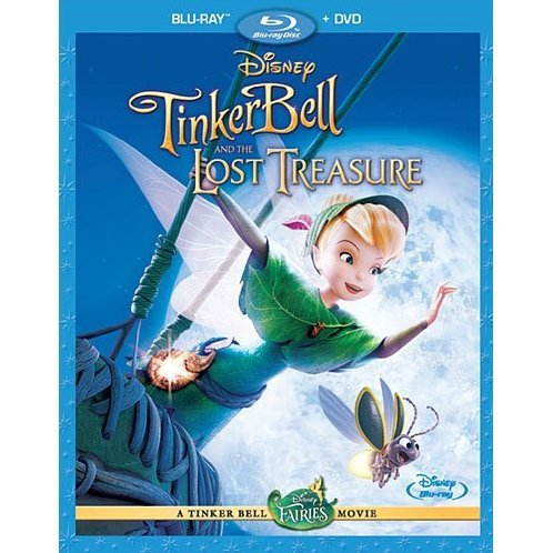 Tinker Bell And The Lost Treasure [Blu-ray+DVD]