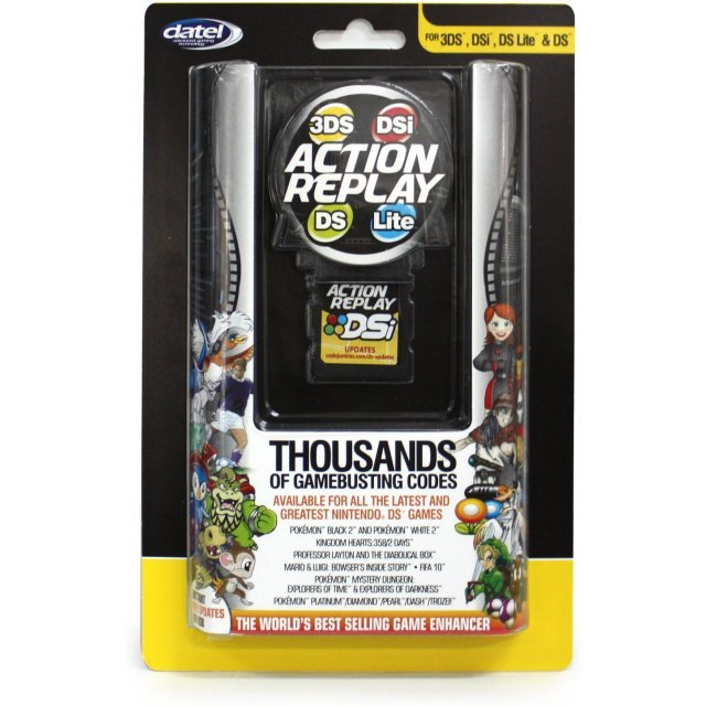 Action Replay (for 3DS, DSi, DS Lite and DS)