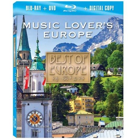 Best of Europe: Music Lover's Europe [Blu-ray + DVD + Digital Copy]