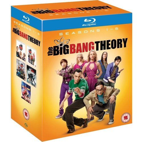 Big Bang Theory: Complete Season 1-5