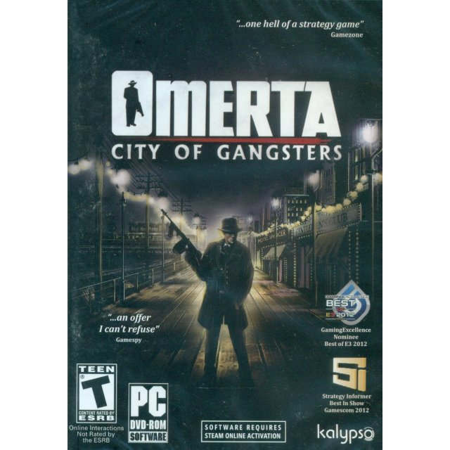 Omerta: City of Gangsters (DVD-ROM)