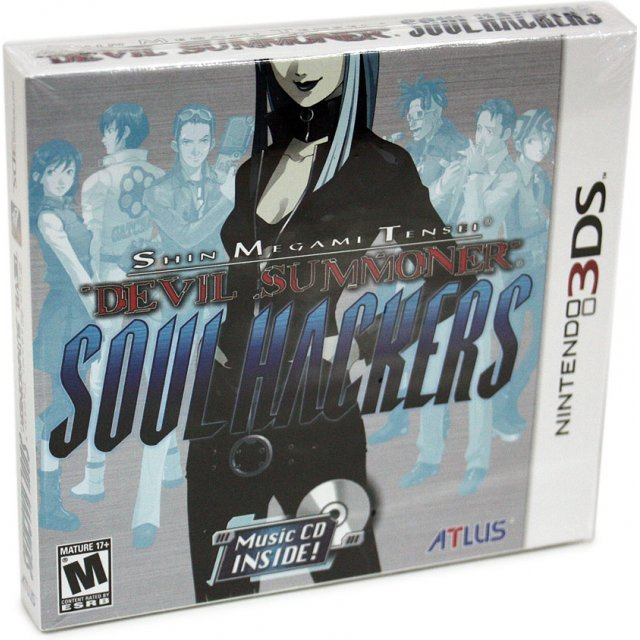 Shin Megami Tensei: Devil Summoner - Soul Hackers (Comes with Free Devil Summoner: Soul Hackers Arranged Soundtrack)