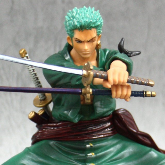 One Piece Banpresto Figure Colosseum Pre-Painted PVC Figure: Zoro
