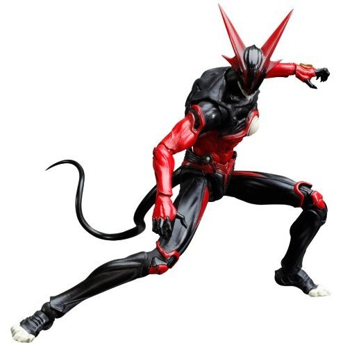 Zetman Play Arts Kai Non Scale Pre-Painted PVC Figure: Zet